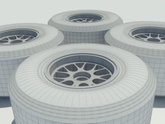 pirelli f1 tyre 3d model 3ds max dxf w3d obj 119591