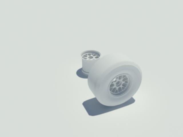 pirelli f1 tyre 3d model 3ds max dxf w3d obj 119593