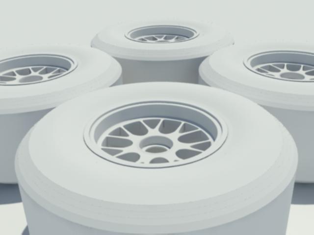 pirelli f1 tyre 3d model 3ds max dxf w3d obj 119599