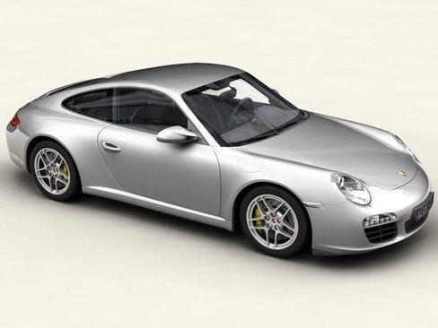porsche 911 carrera 4s 3d model 3ds max c4d