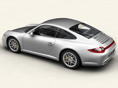 porsche 911 carrera 4s 3d model 3ds max c4d lwo ma mb obj 127829