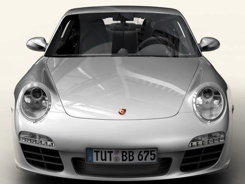 porsche 911 carrera 4s 3d model 3ds max c4d lwo ma mb obj 127830