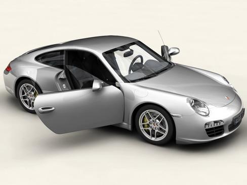 porsche 911 carrera 4s 3d model 3ds max c4d lwo ma mb obj 127831