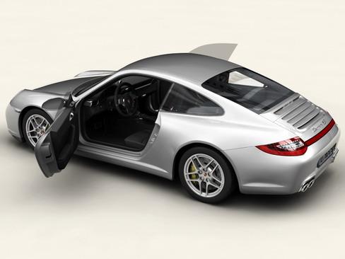 porsche 911 carrera 4s 3d model 3ds max c4d lwo ma mb obj 127832