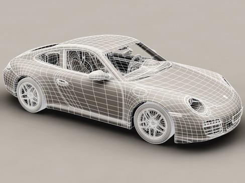 porsche 911 carrera 4s 3d model 3ds max c4d lwo ma mb obj 127836
