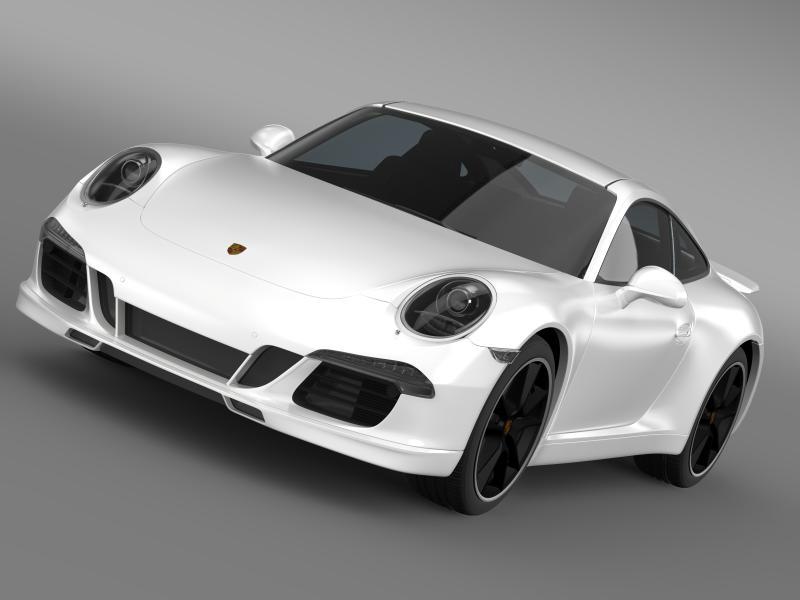 porsche 911 exclusive 3d model 3ds max fbx c4d lwo ma mb hrc xsi obj 159856