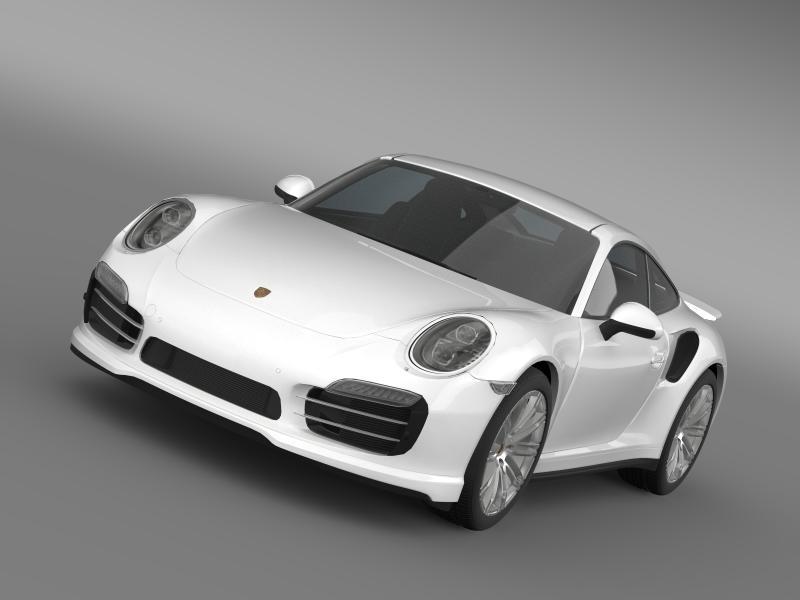 porsche 911 turbo 2013 3d model 3ds max fbx c4d lwo ma mb hrc xsi obj 156069