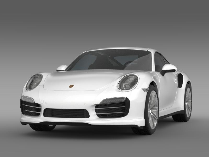 porsche 911 turbo 2013 3d model 3ds max fbx c4d lwo ma mb hrc xsi obj 156071