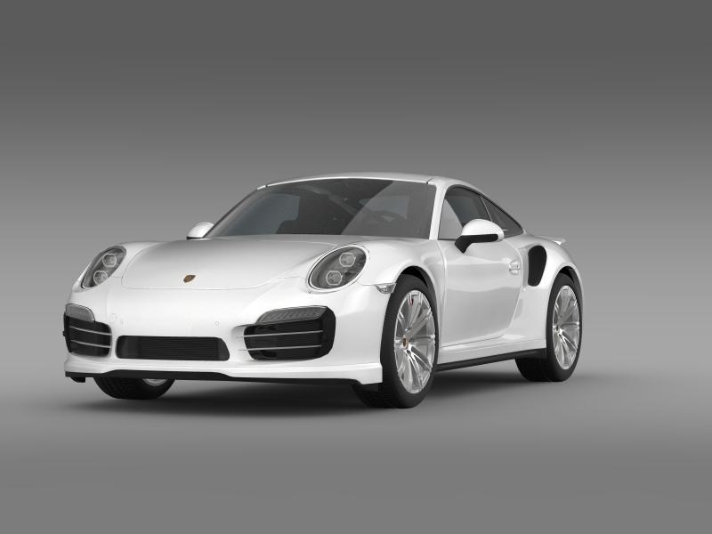 porsche 911 turbo 2013 3d model 3ds max fbx c4d lwo ma mb hrc xsi obj 156072