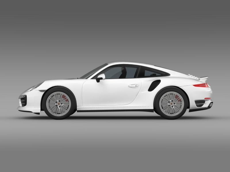 porsche 911 turbo 2013 3d model 3ds max fbx c4d lwo ma mb hrc xsi obj 156074
