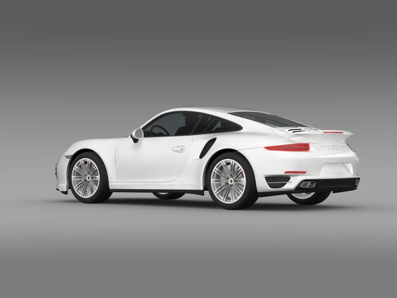 porsche 911 turbo 2013 3d model 3ds max fbx c4d lwo ma mb hrc xsi obj 156075