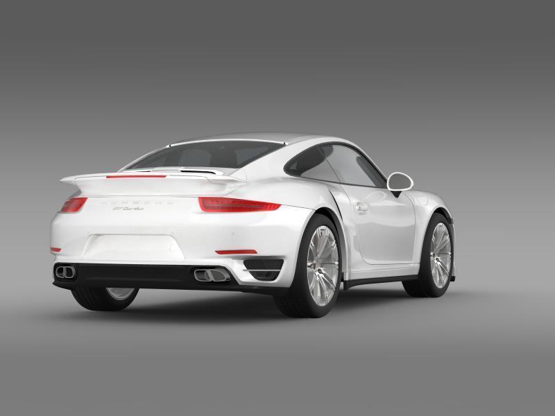 porsche 911 turbo 2013 3d model 3ds max fbx c4d lwo ma mb hrc xsi obj 156078