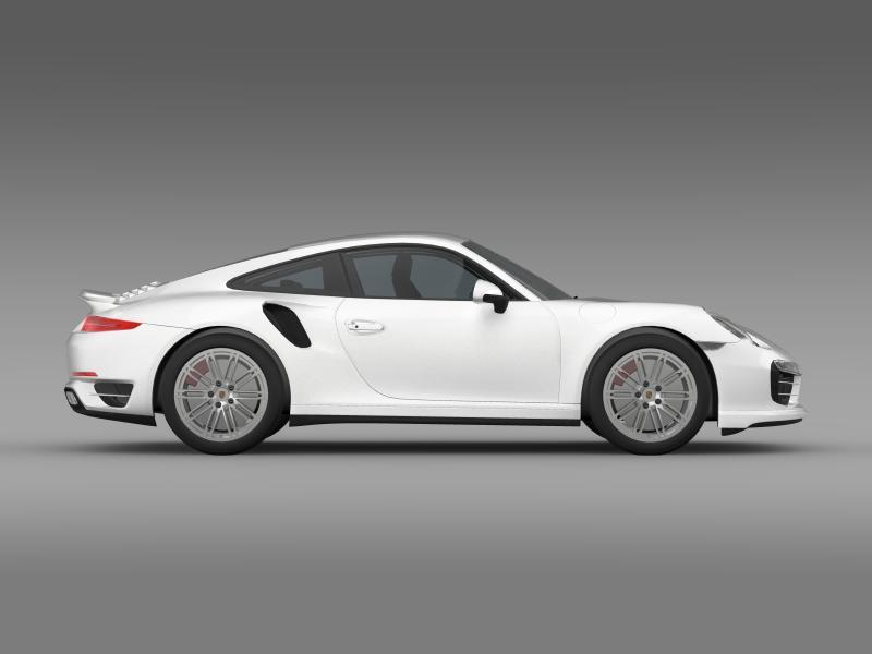 porsche 911 turbo 2013 3d model 3ds max fbx c4d lwo ma mb hrc xsi obj 156080