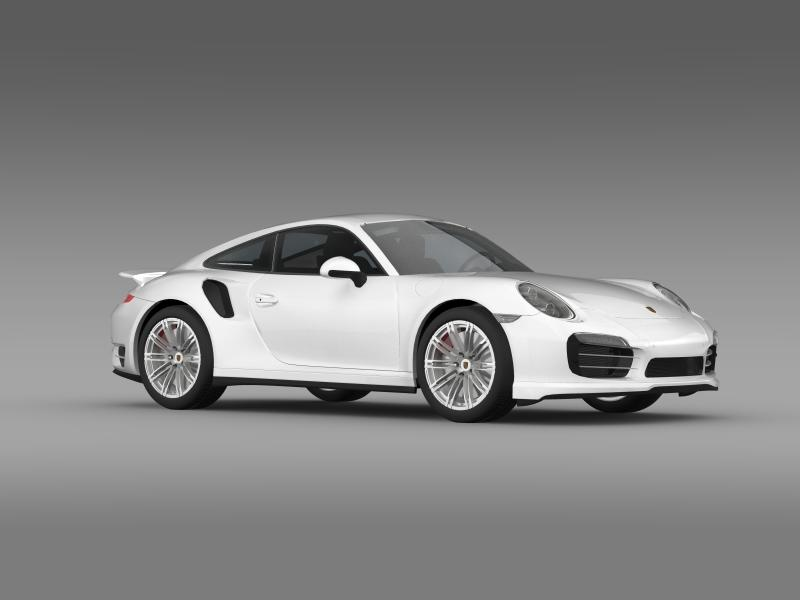 porsche 911 turbo 2013 3d model 3ds max fbx c4d lwo ma mb hrc xsi obj 156081