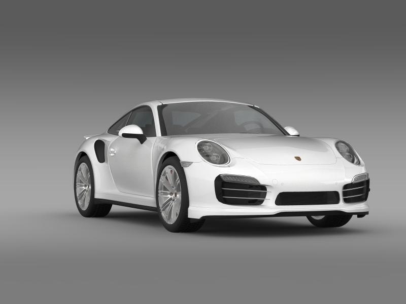porsche 911 turbo 2013 3d model 3ds max fbx c4d lwo ma mb hrc xsi obj 156082
