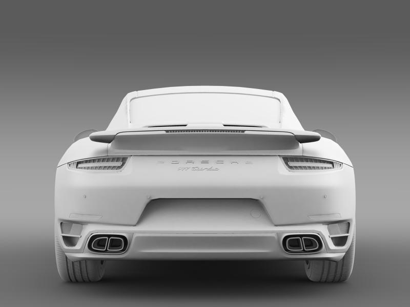 porsche 911 turbo 2013 3d model 3ds max fbx c4d lwo ma mb hrc xsi obj 156084