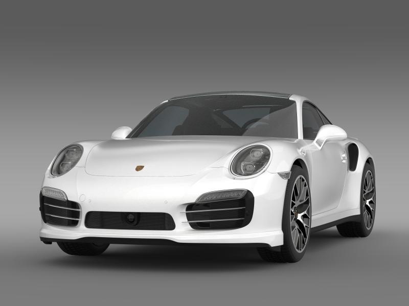 porsche 911 turbo s 2013 3d model 3ds max fbx c4d lwo ma mb hrc xsi obj 156113