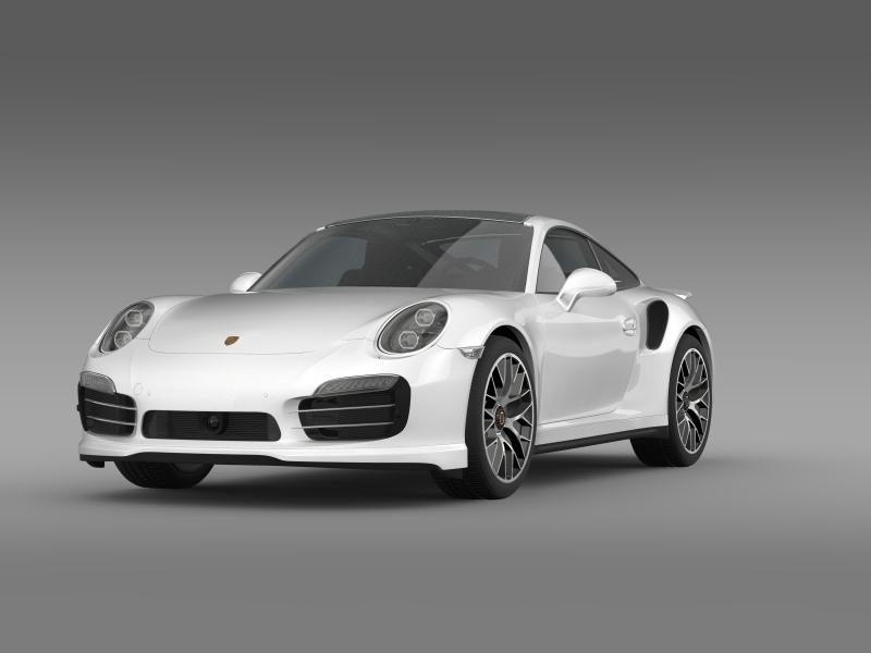 porsche 911 turbo s 2013 3d model 3ds max fbx c4d lwo ma mb hrc xsi obj 156114