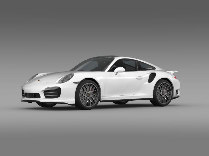 porsche 911 turbo s 2013 3d model 3ds max fbx c4d lwo ma mb hrc xsi obj 156115