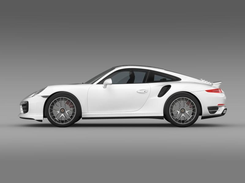 porsche 911 turbo s 2013 3d model 3ds max fbx c4d lwo ma mb hrc xsi obj 156116