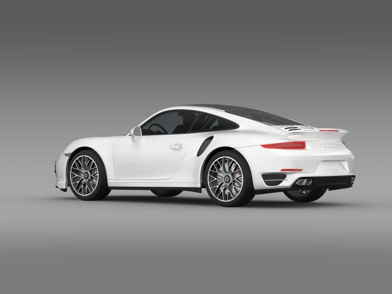 porsche 911 turbo s 2013 3d model 3ds max fbx c4d lwo ma mb hrc xsi obj 156117