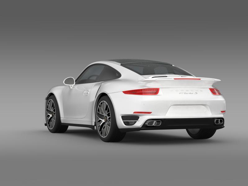 porsche 911 turbo s 2013 3d model 3ds max fbx c4d lwo ma mb hrc xsi obj 156118