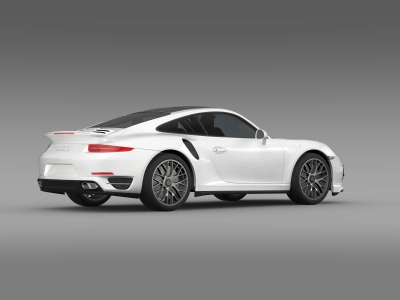 porsche 911 turbo s 2013 3d model 3ds max fbx c4d lwo ma mb hrc xsi obj 156121