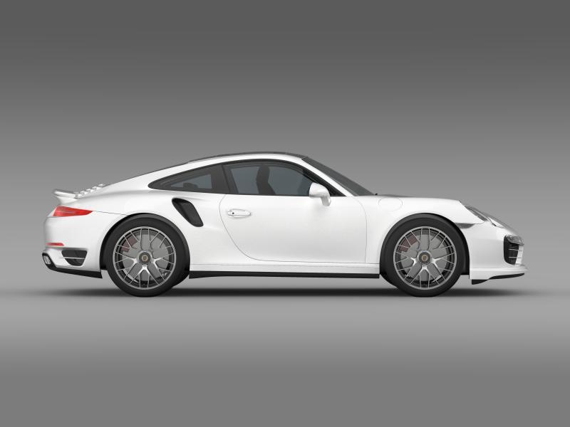 porsche 911 turbo s 2013 3d model 3ds max fbx c4d lwo ma mb hrc xsi obj 156122