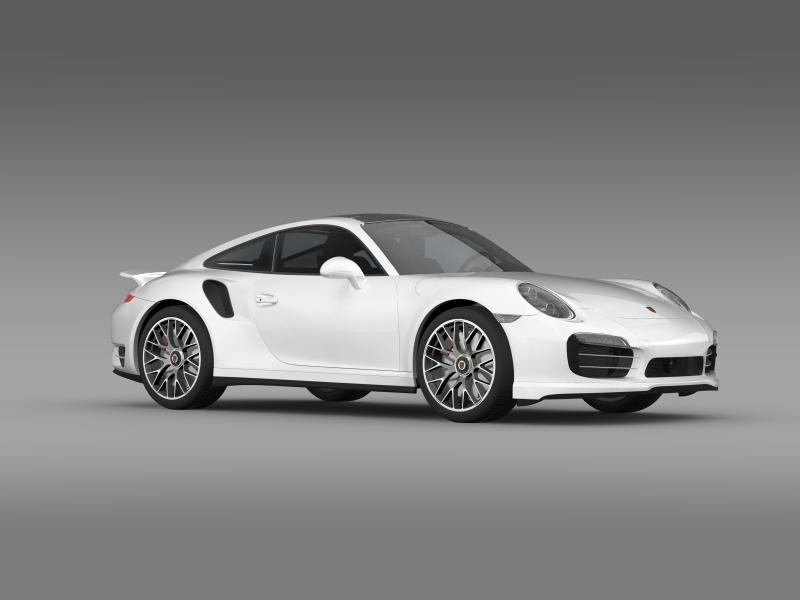porsche 911 turbo s 2013 3d model 3ds max fbx c4d lwo ma mb hrc xsi obj 156123