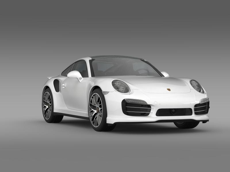 porsche 911 turbo s 2013 3d model 3ds max fbx c4d lwo ma mb hrc xsi obj 156124