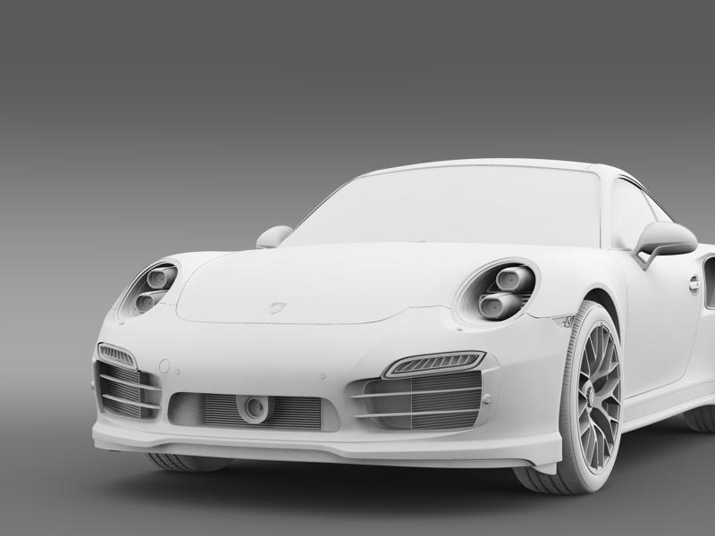porsche 911 turbo s 2013 3d model 3ds max fbx c4d lwo ma mb hrc xsi obj 156127