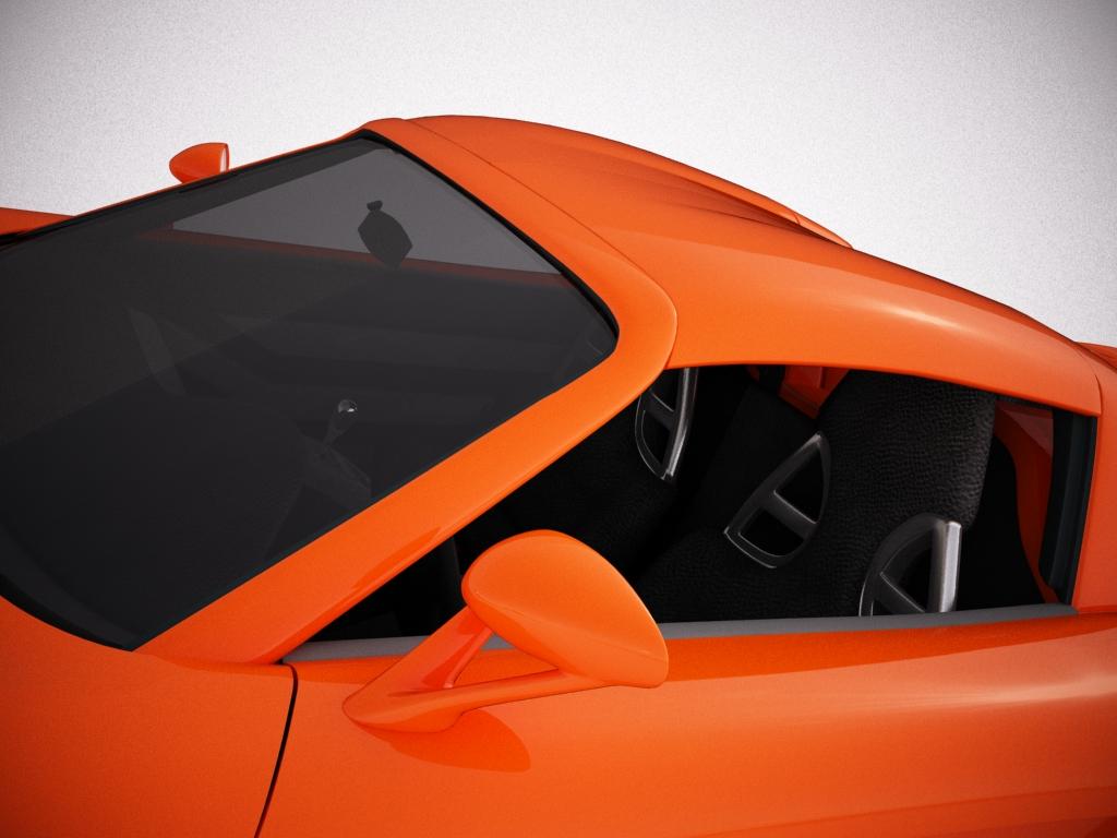 porsche carrera gt 3d model 3ds max bmp jpeg jpg texture obj other 121289