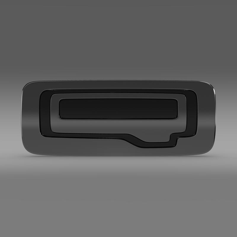 qoros logo 3d model 3ds max fbx c4d lwo ma mb hrc xsi obj 162766