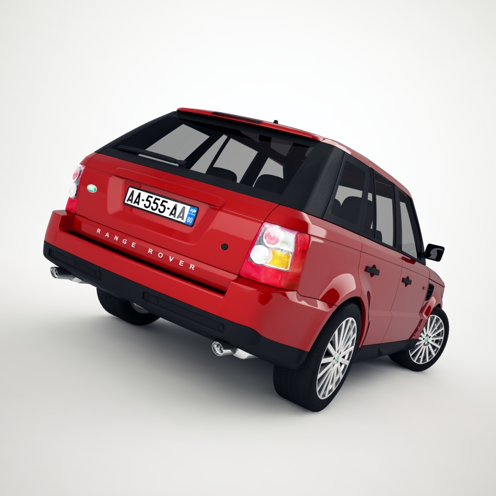 range rover 2006 3d model 3ds max dxf png texture obj 125922