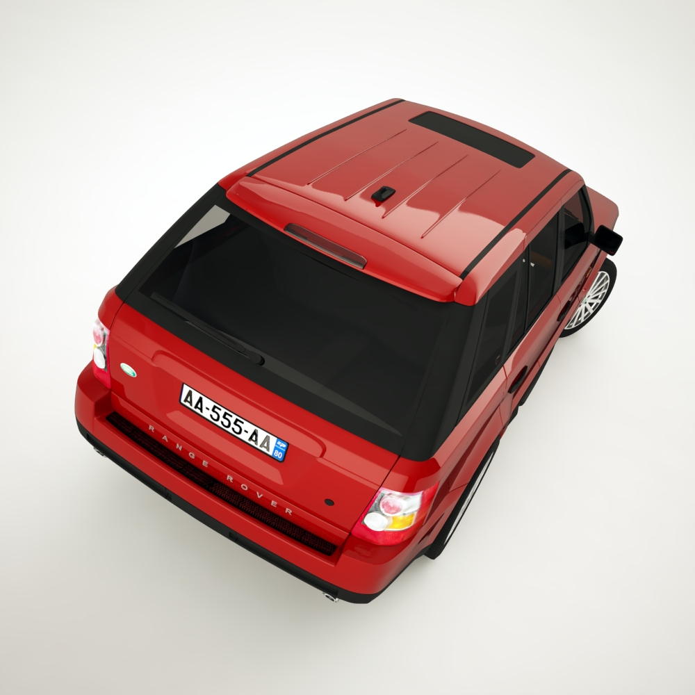 range rover 2006 3d model 3ds max dxf png texture obj 125924