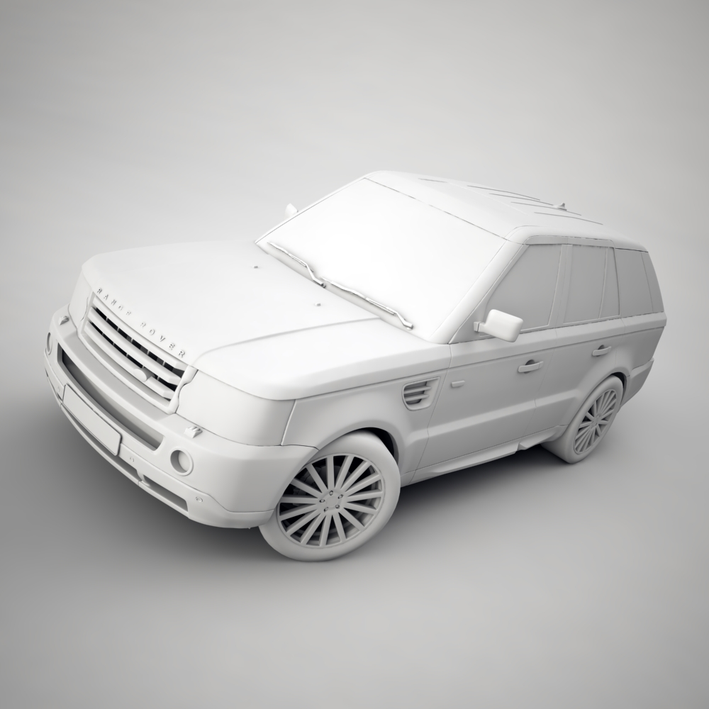 range rover 2006 3d model 3ds max dxf png texture obj 125925