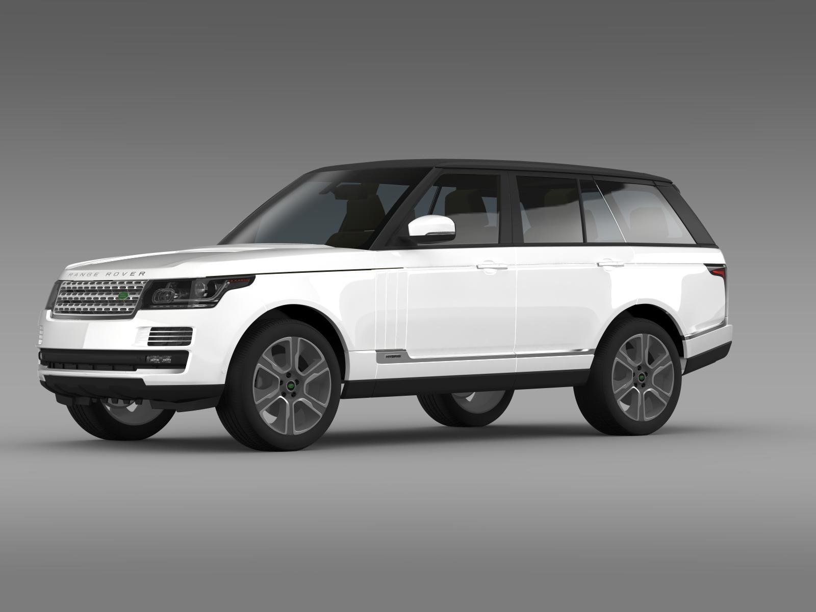 range rover autobiography hybrid l405 3d model 3ds max fbx c4d lwo ma mb hrc xsi obj 162080