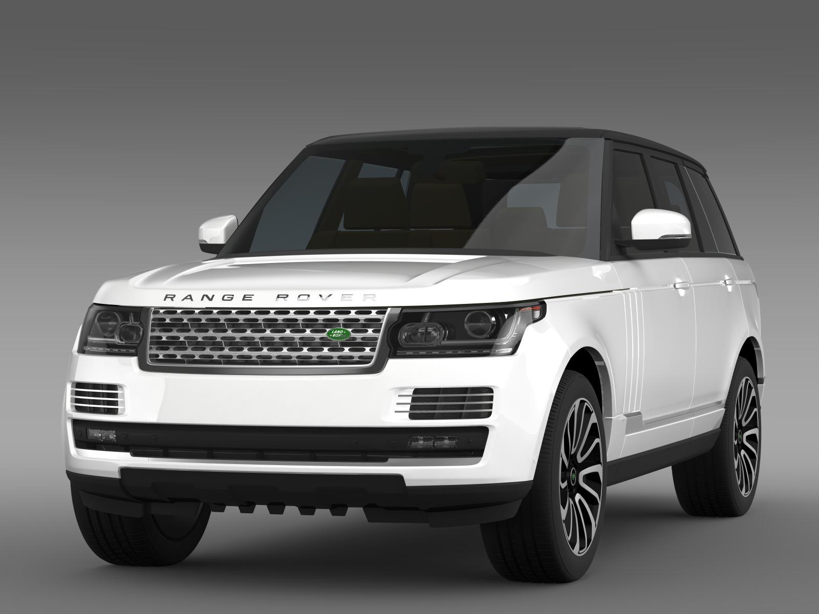 range rover autobiography v8 l405 3d model 3ds max fbx c4d lwo ma mb hrc xsi obj 162104