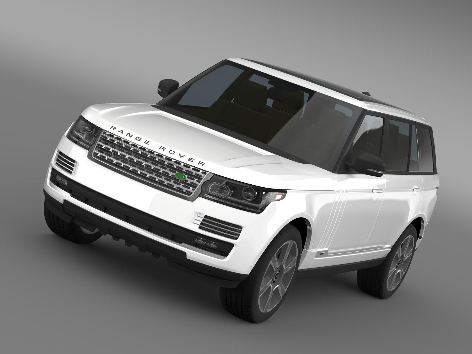 range rover hybrid lwb l405 3d model 3ds max fbx c4d lwo ma mb hrc xsi obj 162128