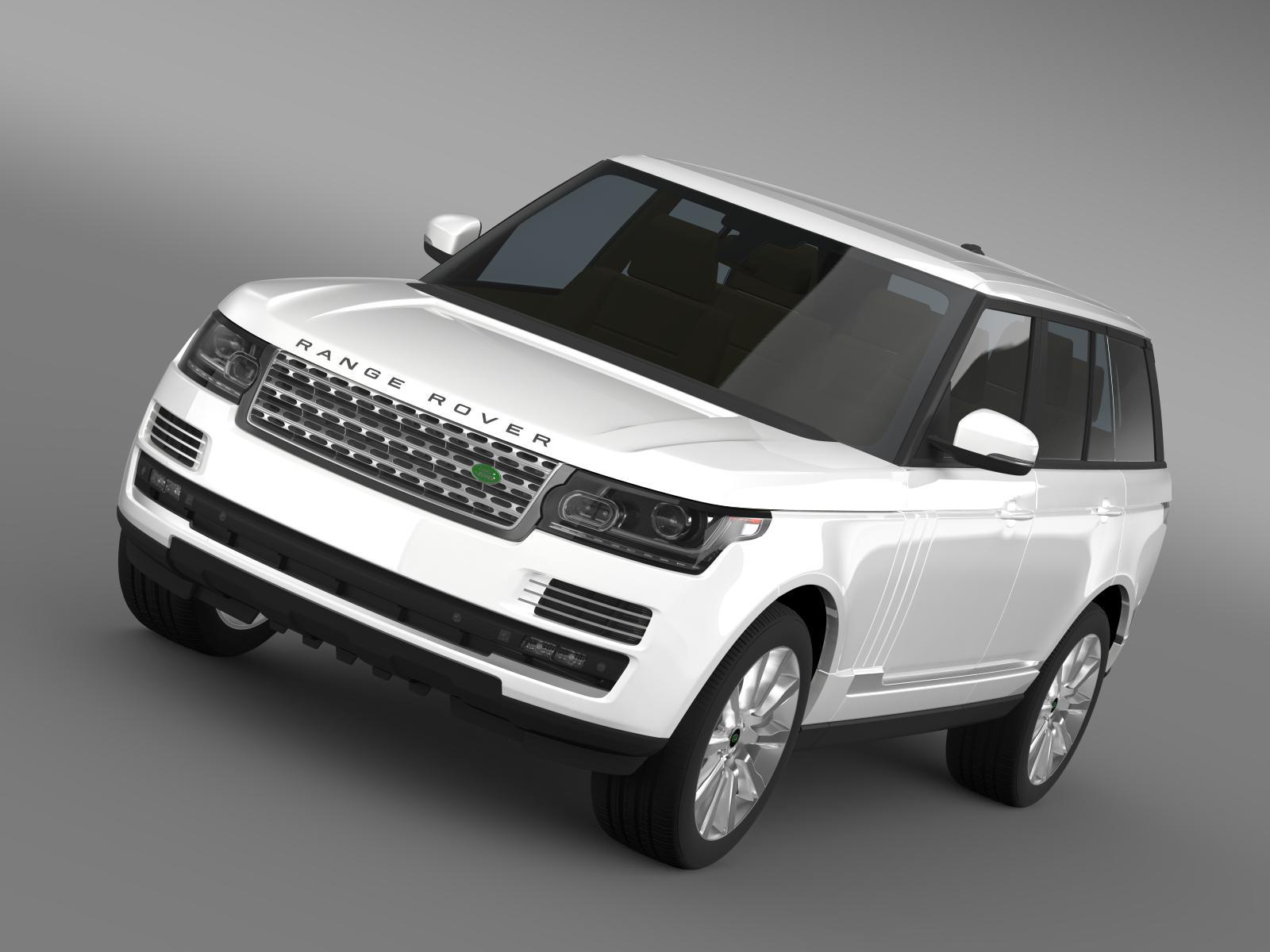 range rover supercharged l405 3d model 3ds max fbx c4d lwo ma mb hrc xsi obj 162191