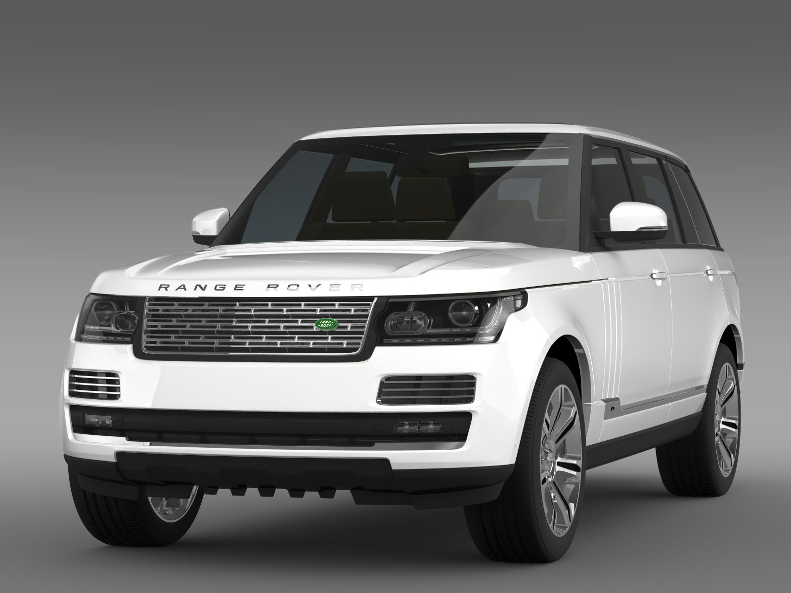 range rover autobiography black lwb l405 3d model flatpyramid. Black Bedroom Furniture Sets. Home Design Ideas