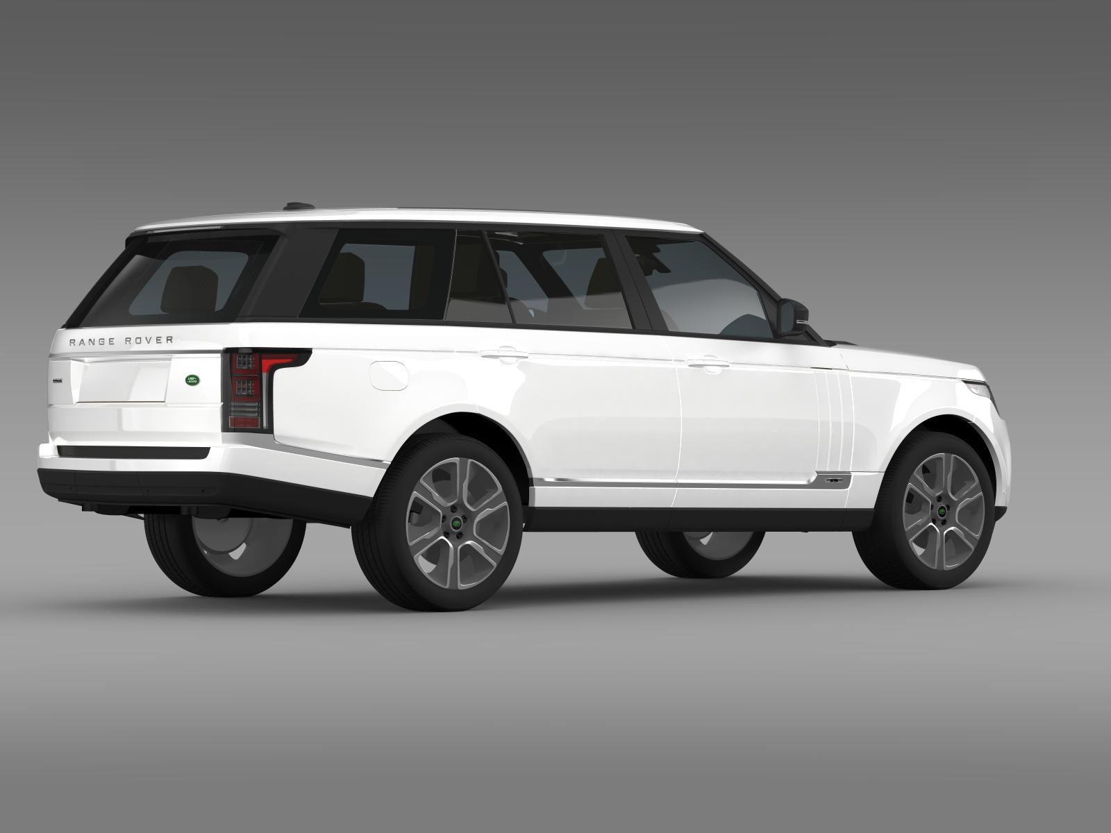 range rover hybrid lwb l405 3d model buy range rover hybrid lwb l405 3d model flatpyramid. Black Bedroom Furniture Sets. Home Design Ideas