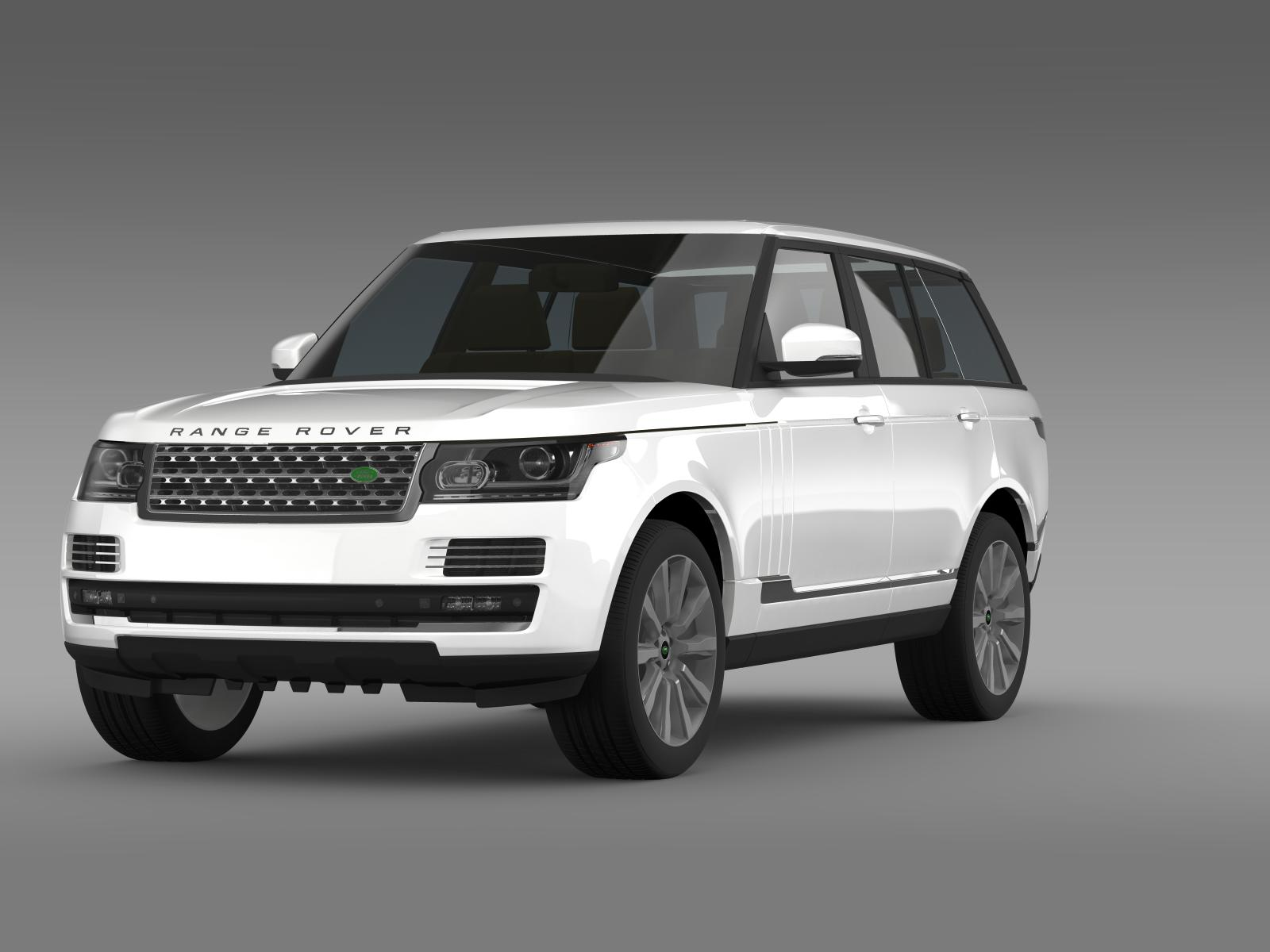 range rover vogue se sdv8 l405 3d model buy range rover vogue se sdv8 l405 3d model flatpyramid. Black Bedroom Furniture Sets. Home Design Ideas