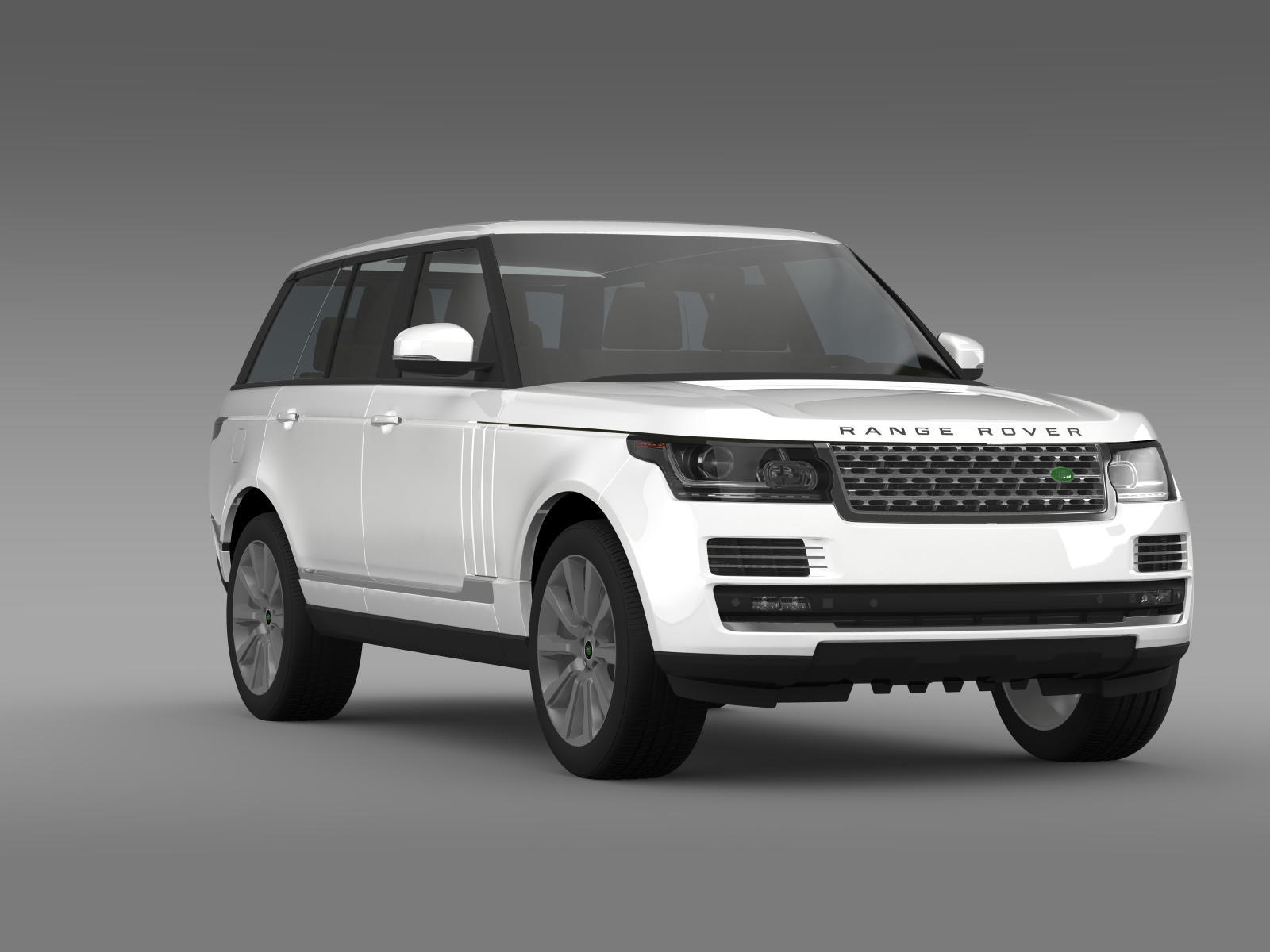 range rover vogue se sdv8 l405 3d model buy range rover vogue se sdv8 l405 3d model flatpyramid. Black Bedroom Furniture Sets. Home Design Ideas