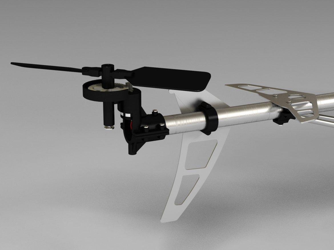 rc helicopter_pioneer mx 3d model 3ds max fbx obj 155031