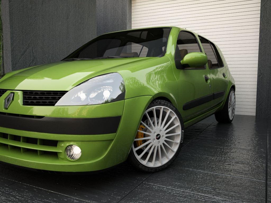 renault clio 2004 3d model 3ds max other texture obj 119699