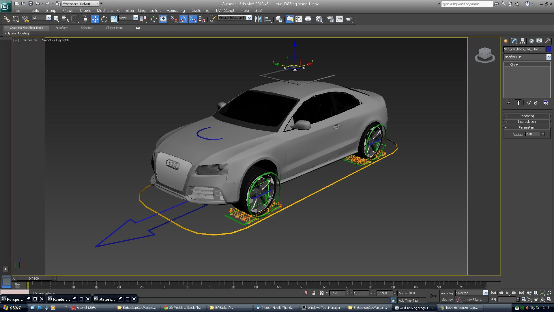 Rigged Audi Rs5 Car 3d Model Vehicles 3d Models Accurate
