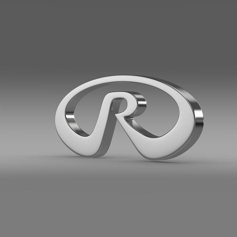 riich logo 3d model 3ds max fbx c4d lwo ma mb hrc xsi obj 153488