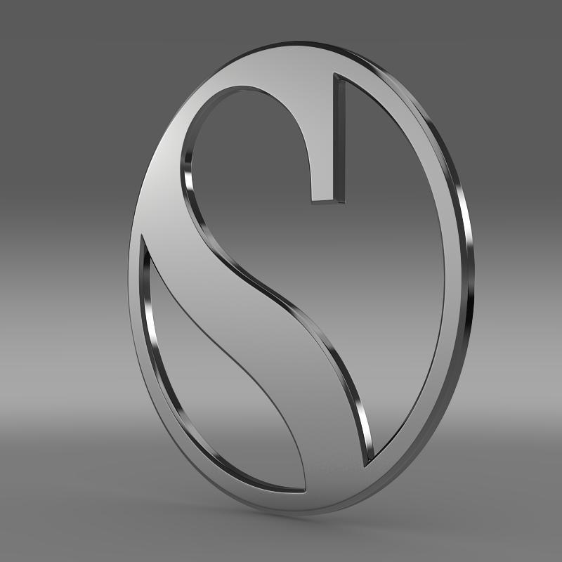 sauber logo 3d model 3ds max fbx c4d lwo ma mb hrc xsi obj 162786