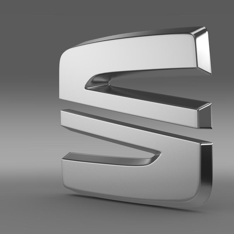 seat new logo 3d model 3ds max fbx c4d lwo ma mb hrc xsi obj 150484